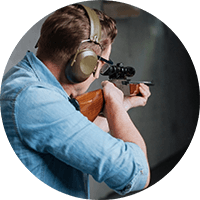 Hearing protection for hunters and recreational shooters.